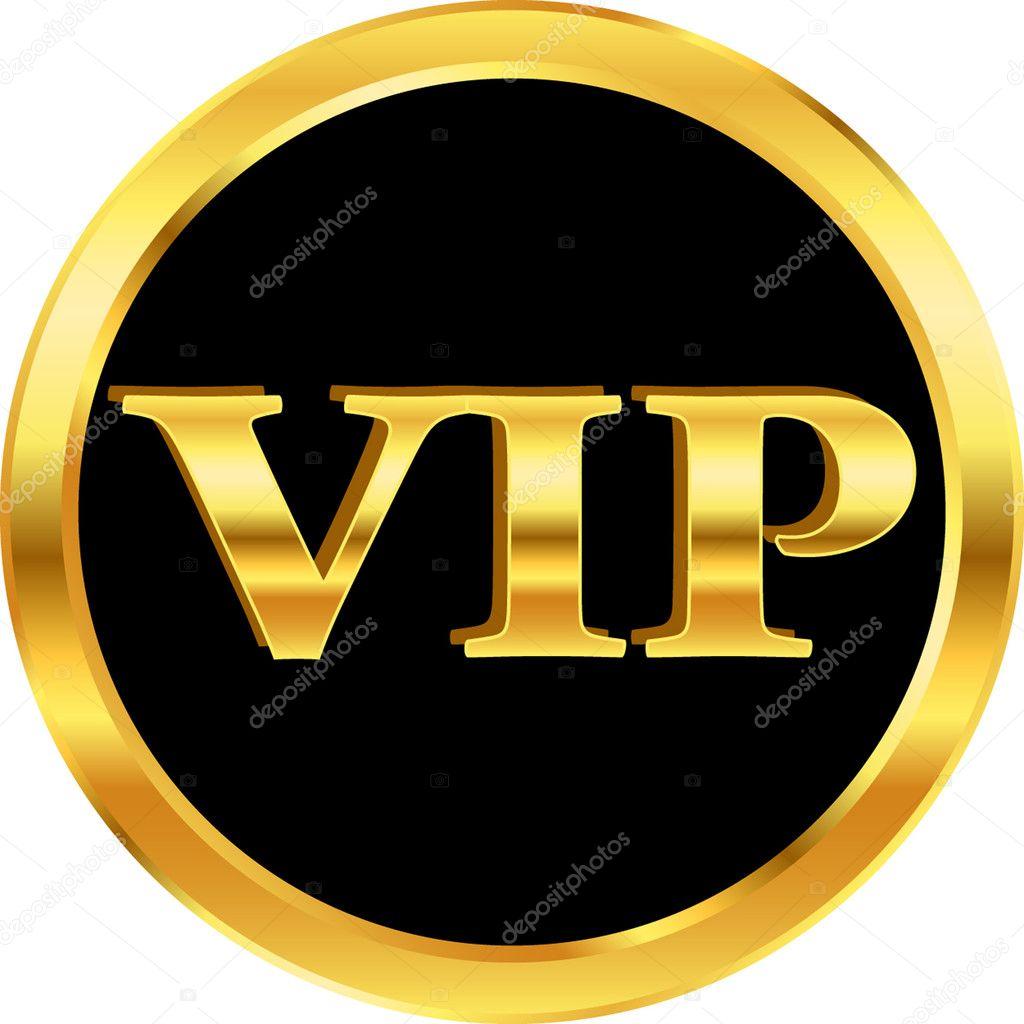 Gold vip — Stock Vector © Kristina2211 #8674884