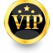 Stock Vector: Gold vip