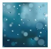 Kapky vody — Stock vektor