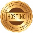 Hosting — Stock Vector