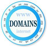 ícone de domínio — Vetorial Stock