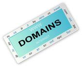 Ícone de domínio — Vetor de Stock