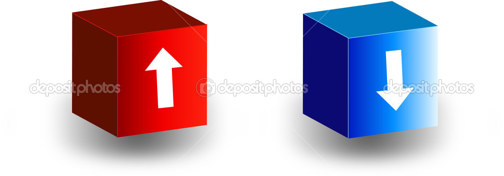 Box with an arrow — Stock Vector #8704709