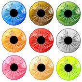 Сontact lens — Stock Vector