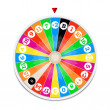 Wheel of fortune — Image vectorielle