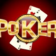 Poker. Casino — Stock Vector