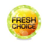 Fresh choice — Stock Vector