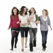 Teenage girls - Stock Photo