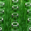 Stock Photo: Green Bottles