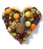 Heart shaped fruit — Stock Photo