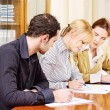 Business team work together in office — Stock Photo #8275482