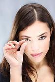 контактные линзы — Стоковое фото