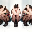 Wombetween two mirrors — ストック写真 #8347239