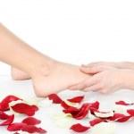 masajes en los pies — Foto de Stock