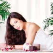 Woman on the massage table — Stock Photo