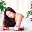 Woman on the massage table — Stock Photo #8744300