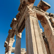 Ruins of ancient Ephesus - Stock Photo
