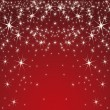 Red background with stars — Stock Vector #10058211