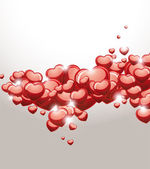 Abstract Valentine Background. — Stock Vector