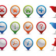 GPS Icons. — Stock Vector
