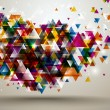 Abstract Background with triangle pattern. — Stock Vector