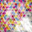 Abstract Background with triangle pattern. - Векторная иллюстрация