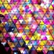 Abstract Background with triangle pattern. - Stok Vektör