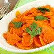Stewed carrots — Stock Photo