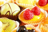 Cakes, tarts and pastries — Stock Photo