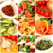 Royalty-Free Stock Photo: Italian food collage