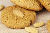 Almond cookies — Stock Photo