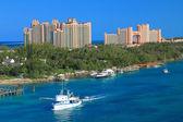 Atlantis Hotel in Bahamas — Stock Photo