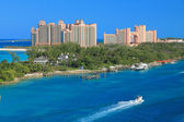 Atlantis Hotel in Bahamas — Stock Photo