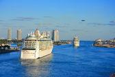 Miami pier — Stock Photo