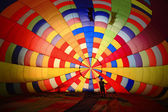 Inside Balloon — Stock Photo