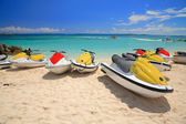 Jetski on Paradise Island beach — Stock Photo