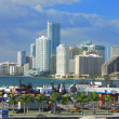 Miami day,Florida - Stock Photo