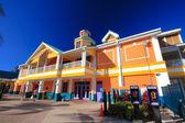 Bahamas pier — Stock Photo