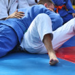 Martial arts - Judo — Stock Photo
