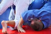 Martial arts - judo — Stock Photo