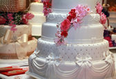 Wedding cakes — Stock Photo