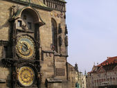 Clock tower in Prague — Stock Photo