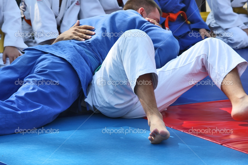 Martial arts - Judo  Stock Photo #9186848