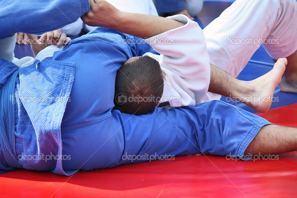 Martial arts - Judo — Stock Photo #9186863