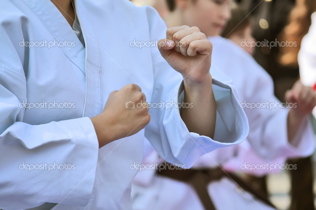 Martial arts - Karate — Stock Photo #9186880
