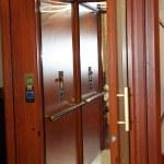 Wooden elevator — Stock Photo