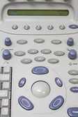 Ultrasound machine detail — Stock Photo
