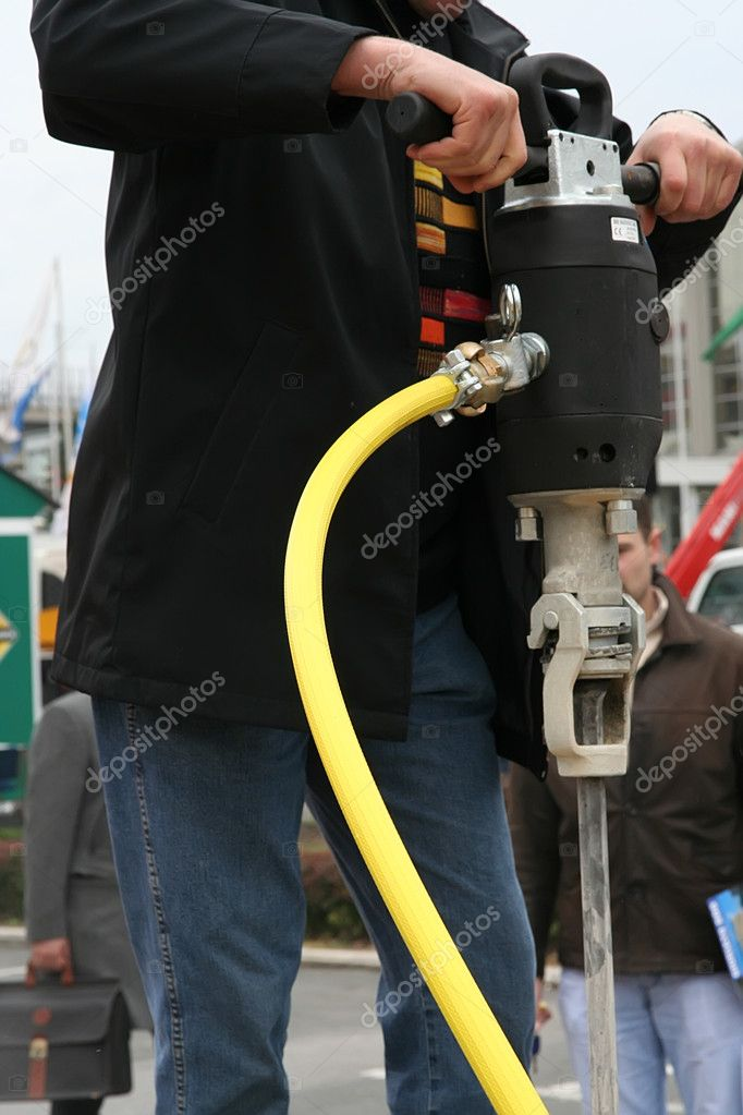 Jackhammer — Stock Photo #9335642