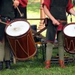 Drumers on the knight torurnament - Stock Photo
