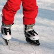 Stock Photo: Ice skating